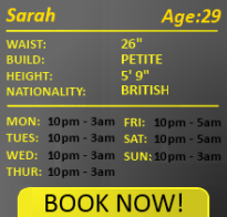 Sarah female escort 29
